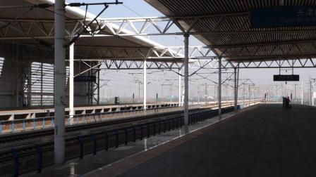 2019年9月24日,G179次(南站-德州东站)本务中国铁路局集团有限公司动车段南动车运用所CRH380CL型天津南站通过
