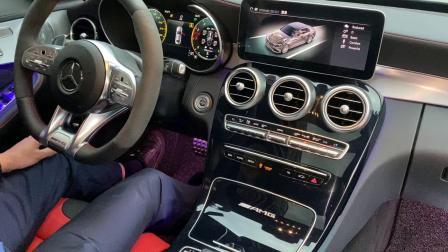 19款奔驰C63 4.0T Repose尾段阀门款排气原车运动按键控制