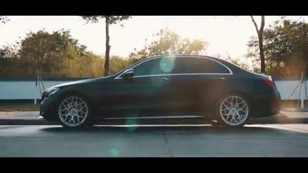 19款奔驰C260L 1.5T Repose中尾段阀门款排气 开阀门路跑声音效果视频
