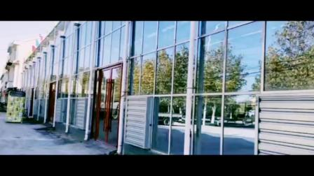 青州市中翔温室工程有限公司生态餐厅玻璃温室大棚准备投入使用