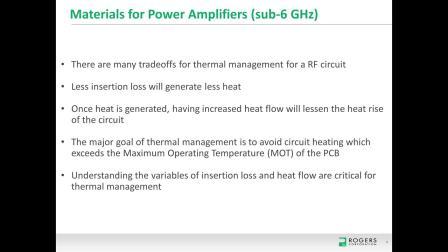 20191105 5G基站的功率放大器与MIMO天线的电路设计考虑