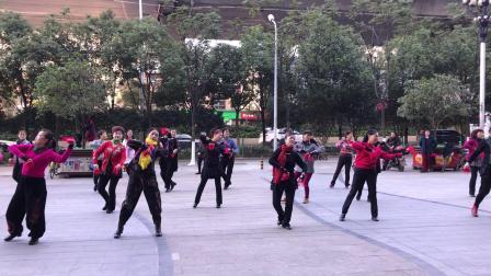 学跳张蕙萍老师的舞蹈(太阳花)3