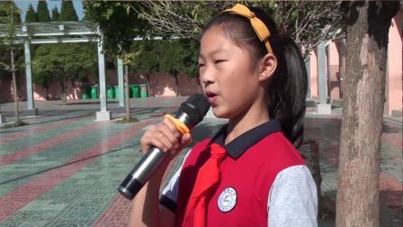 郎溪县实验小学齐唱国歌