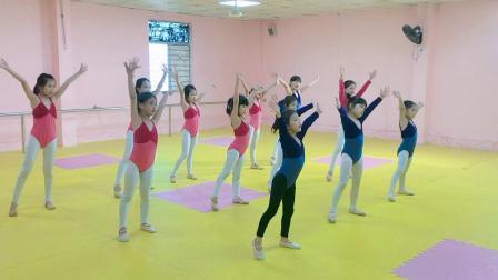 第四版中国舞考级第二级《宝宝要睡觉》C3班2
