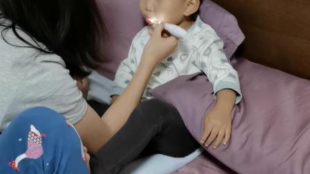 动画片刷牙