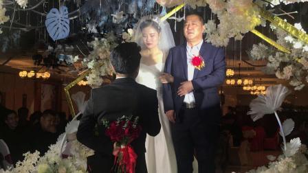 任佩珊宋蒙婚礼现场录影