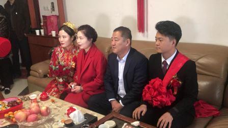 任佩珊宋蒙婚礼之家庭敬茶
