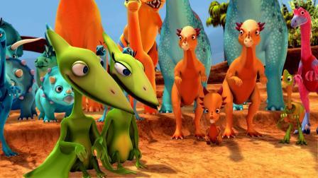 小恐龙们为妈妈准备的礼物真是太美妙了!