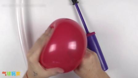 气球玩家气球造型教程-圣诞老人(S0030030)
