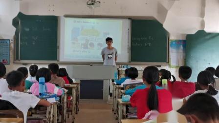 2019-2020学年第一学期四年级英语Unit4 My home B Let s learn阳春市民族希望学校余远帆