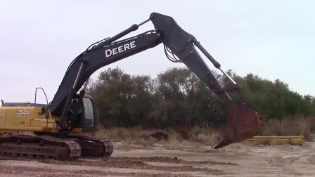 2008年迪尔350D LC挖掘机