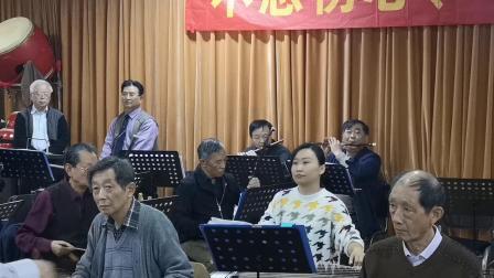 4  顾冠仁指挥吴平国乐团排练随拍