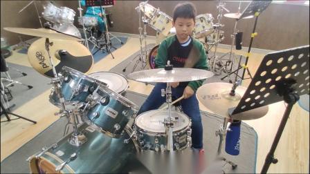 蓬莱架子鼓《逆 战》 蔡佳兴  于老师权威架子鼓教学  课堂激情演奏!