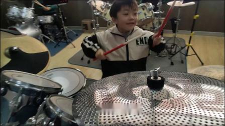 蓬莱架子鼓《逆 战》 王笑浺  于老师权威架子鼓教学  课堂激情演奏!