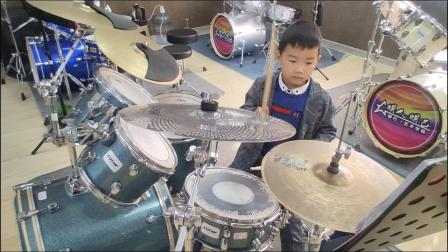 蓬莱架子鼓《小蜜蜂》 赵紫豪  于老师权威架子鼓教学  课堂激情演奏!
