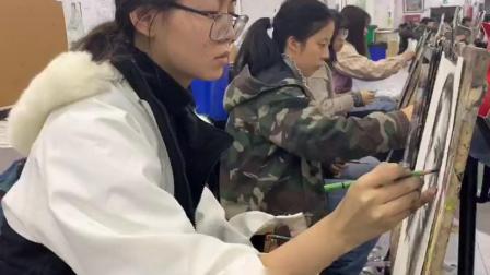 杭州孪生画室银湖校区上课日常随录