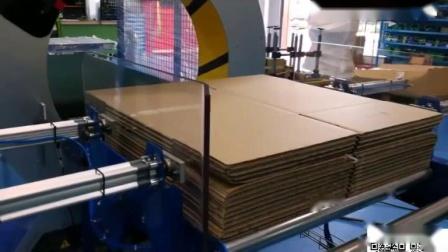 全自动水平缠绕裹膜机FV350 90  纸箱、纸盒缠绕范例
