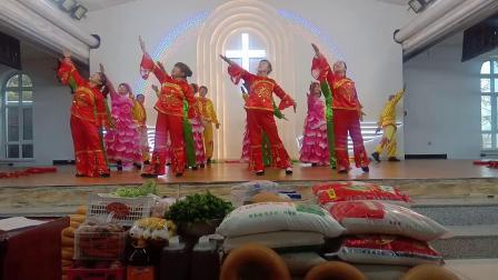 基督教广场舞佟家复兴教会《感恩赞美主》