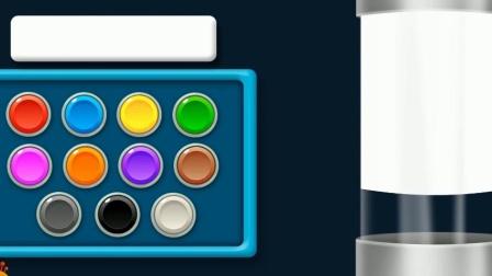 制作冰激凌水 认识颜色 学习英语  婴幼儿早教益智动画启蒙游戏