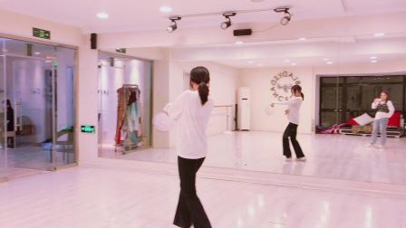 青岛舞蹈中国风爵士舞青岛年会舞蹈《芒种》镜面分解教学