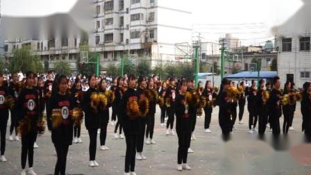 2019年驻马店市第二高级中学高一年级团体操舞比赛一等奖19-10班