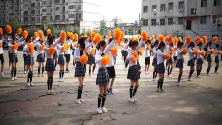 2019年驻马店市第二高级中学高一年级团体操舞比赛一等奖19-22班