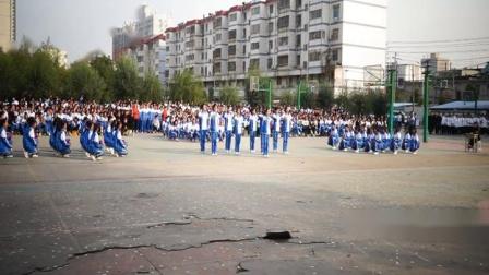 2019年驻马店市第二高级中学高一年级团体操舞比赛一等奖19-13班
