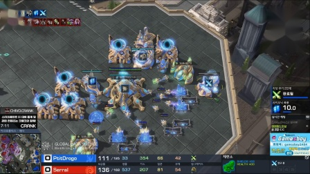 星际二 11月23日第20届宅男杯Day2(9)SerraL(Z) vs PtitDrogo(P) 2019