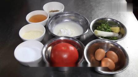 西红柿蛋花汤在家这样做,酸辣好喝,做法还超级简单