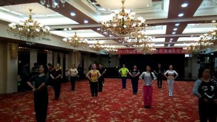 信马由缰-山西省广场舞培训班《信马由缰》老师和学员-