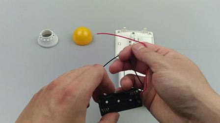 忙碌板DIY教程:反馈开关LED灯泡安装 新版
