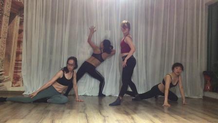 Evon部落融合肚皮舞系统课培训2019.11.24 肚皮舞技巧训练
