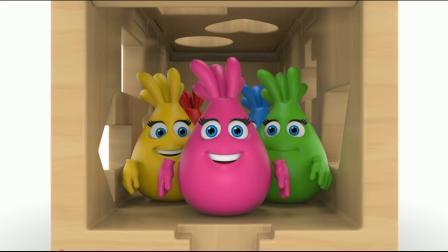 开积木车  认识形状 认识颜色 学习英语 婴幼儿早教益智动画游戏