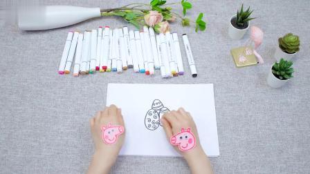 线条画复活节小彩蛋,带宝宝感受色彩,有助于绘画启蒙和兴趣培养