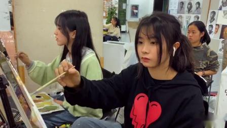 杭州孪生画室城堡校区上课日常11.22日