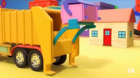大大卡车环保车玩具