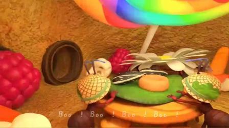 森森英语儿歌《蚂蚁搬家》《安全防护歌》