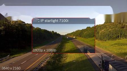 MIC IP 摄像机的超高分辨率让您不错过每个细节