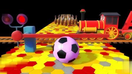 保龄球和水果玩具