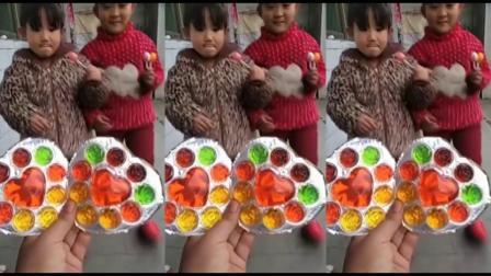 【妈妈发糖果】发棒棒糖、棉花糖、鞋子糖、彩虹糖、口香糖等零食