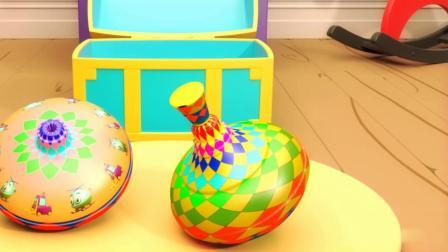 小陀螺和小风车玩具