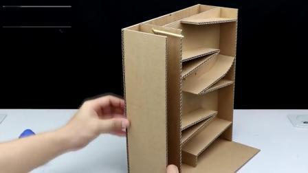 米趣实验室:用纸板制作的自动贩卖机,太厉害了吧!