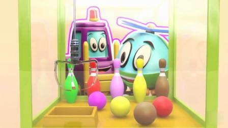 抓保龄球玩具