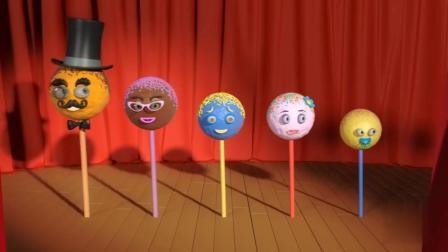 冰激凌和棒棒糖玩具