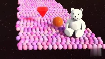认识多边形玩具和英文字母