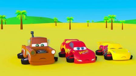 小动物和小赛车玩具