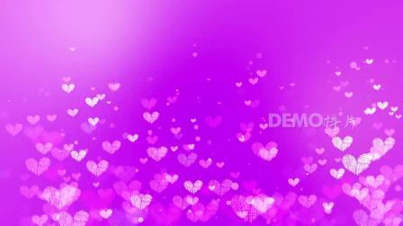 儿童晚会演出 配乐视频 幼儿园 c57唯美梦幻粉色爱心粒子上升婚礼婚庆歌舞表演六一儿童节晚会舞台节目演出LED大屏幕背景视频素材 舞台背景视频
