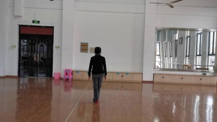 张晓燕老师跳的舞蹈《雪域踢踏》分解示范