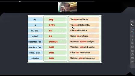 【大话西语-广州西班牙语培训机构-在线直播互动网课】外教授课:你来自哪里?