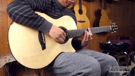 美诗特 raffles 私人收藏系列 瑞士云杉蛇纹木 吉他评测